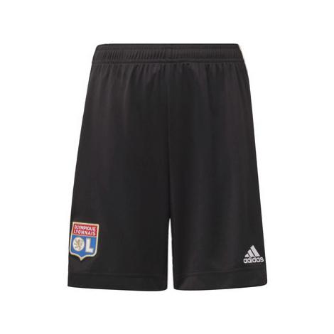 Adidas Venkovní šortky Olympique Lyonnais Černá