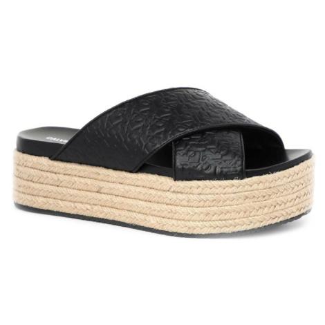 Calvin Klein dámské černé sandály