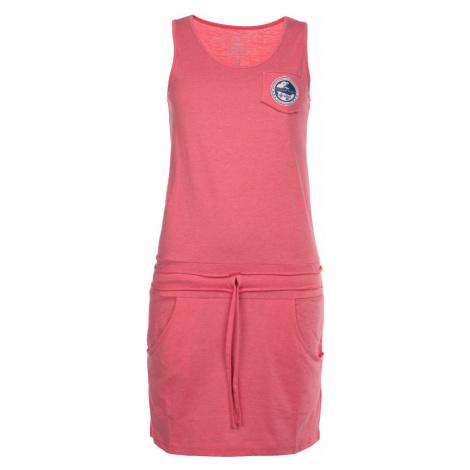 KILPI Dámské bavlněné šaty FANTASIA-W IL0140KIPNK Růžová