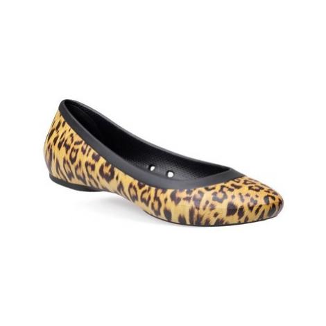 Crocs Lina Graphic Flat ruznobarevne
