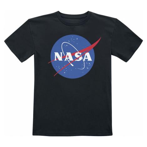 NASA Kids - NASA Insignia detské tricko černá
