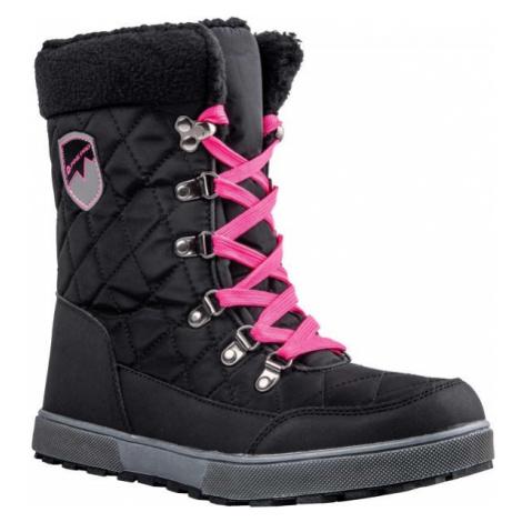ALPINE PRO ARYNA černá - Dámská zimní obuv
