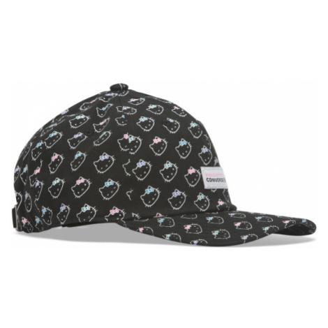 Converse HELLO KITTY FLOWER DAD CAP černá - Dámská kšiltovka