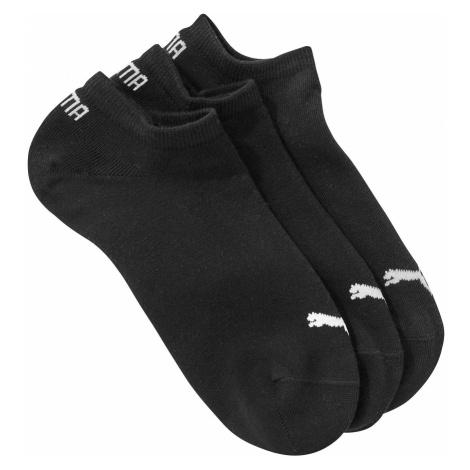 Blancheporte Kotníkové ponožky Sneaker Puma, sada 3 páry, černé černá