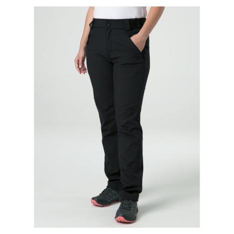 LEKRA women's softshell pants black LOAP
