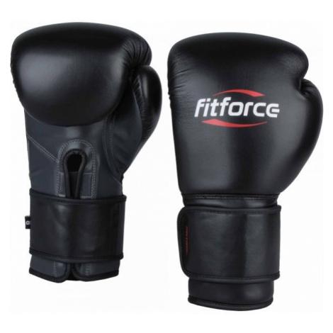Fitforce PATROL černá - Tréninkové boxerské rukavice