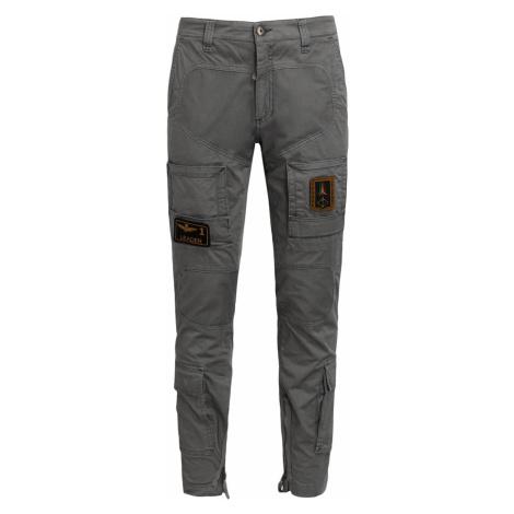 Kapsáčové kalhoty AERONAUTICA MILITARE šedá