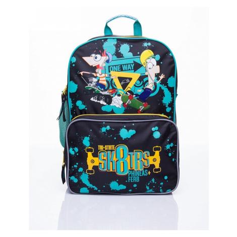 Dětský školní batoh s motivem phineas a ferb BASIC