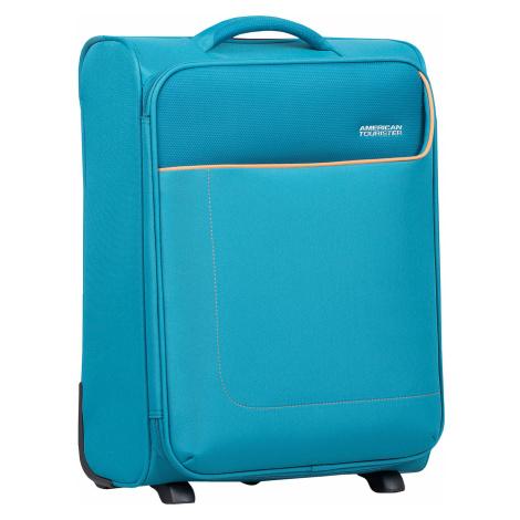 Tyrkysový cestovní kufr American Tourister