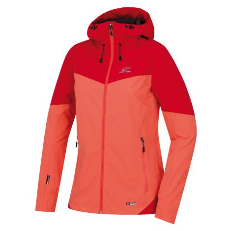 HANNAH SUZZY Dámská sportovní bunda 10002950HHX01 Living coral/poppy red