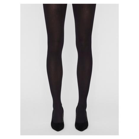 Rigani Punčochové kalhoty Vero Moda Černá