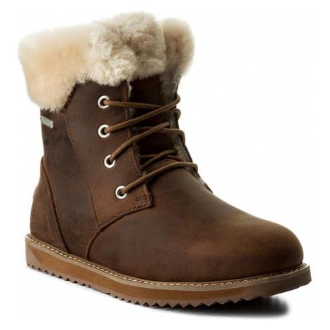 Sněhule EMU AUSTRALIA - Shoreline Leather Lo W11588 Oak