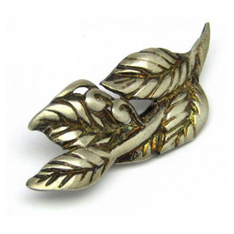 AutorskeSperky.com - Stříbrná brož - S2743