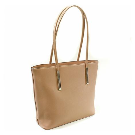 Růžová dámská stylová kabelka přes rameno Tacy Tapple