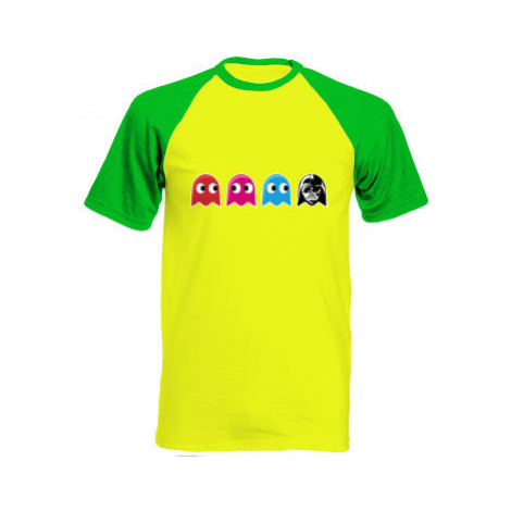 Pánské tričko Baseball Pacman Star Wars