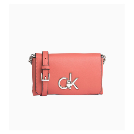Calvin Klein dámská malá korálová kabelka Crossbody