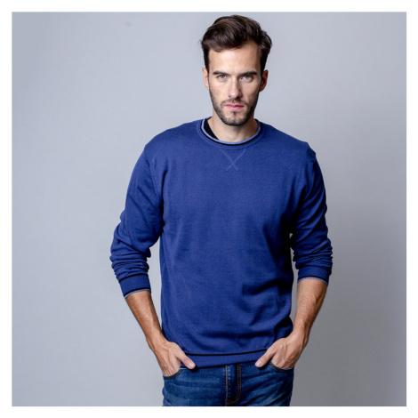 Pánský svetr tmavě modrý 10343 Willsoor