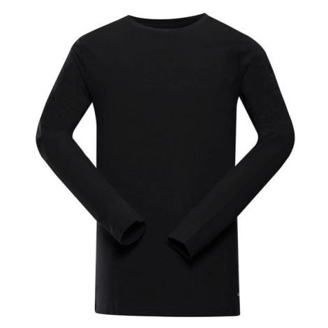 Megan 2 černá pánské bavlněné triko ALPINE PRO