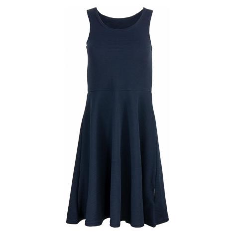 Dámské šaty Alpine Pro HABENA - tmavě modrá