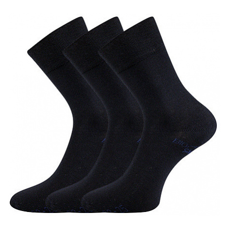 3PACK ponožky Lonka tmavě modré (Bioban) S