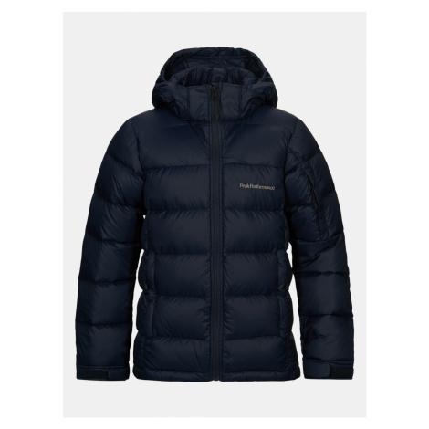 Bunda Peak Performance Jr Frost Down Jacket - Modrá