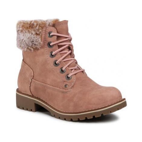 Šněrovací obuv Jenny Fairy WS2266-01 Ekologická kůže /-Ekologická kůže