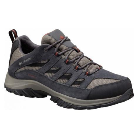 Columbia CRESTWOOD LOW šedá - Pánská multisportovní obuv