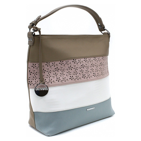 Béžová barevná dámská kabelka na rameno Fayanna Tapple