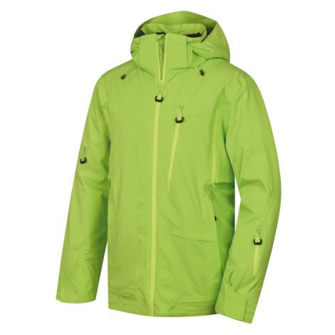 Husky Montry M, zelená Pánská lyžařská bunda