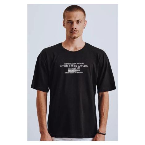 Black Dstreet RX4647 men's T-shirt with print