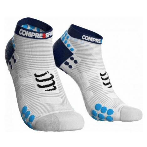 Compressport RACE V3.0 RUN LO modrá - Běžecké ponožky