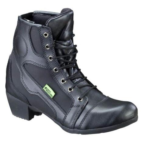 Dámské kožené moto boty W-TEC Jartalia NF-6092 Barva černá