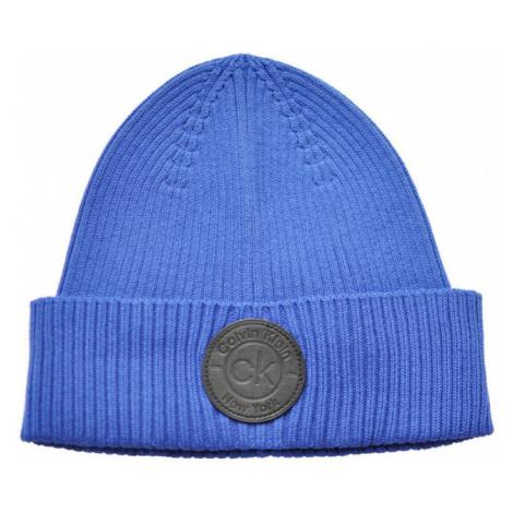 Calvin Klein Calvin Klein pánská modrá čepice