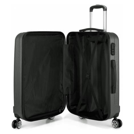 Šedý cestovní kvalitní malý kufr Corbin Lulu Bags