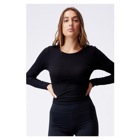 Dámské tričko Side černá černá Cotton On