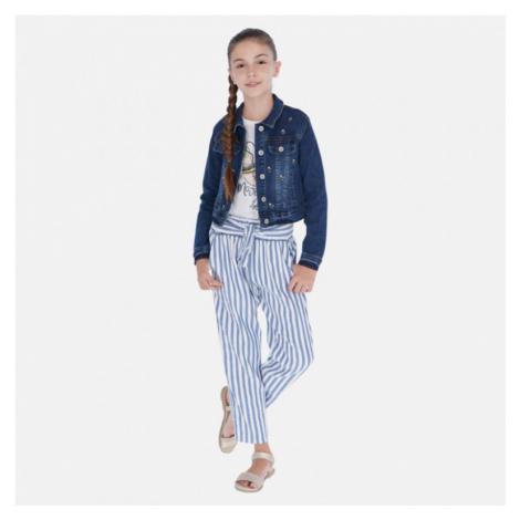 Letní dívčí kalhoty Mayoral 6534 | modrá