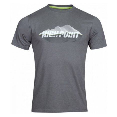 Pánské tričko High Point 2.0 T-Shirt iron gate