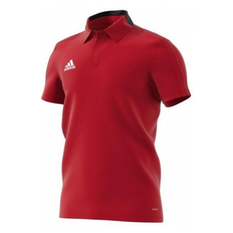 Tričko Adidas Performance Con18 Co Polo Červená