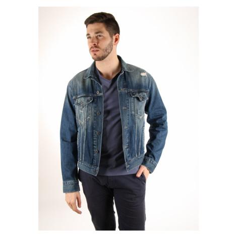 Pepe Jeans pánská tmavě modrá džínová bunda