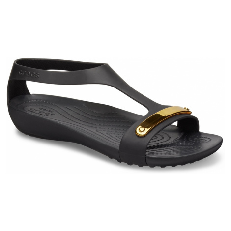 Crocs Metalic Serena Sandal Black