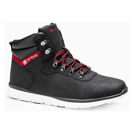 Pánské zimní boty Lawes černé Ombre Clothing