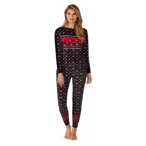 DKNY dámské pyžamo YI2919483 černé - Černá