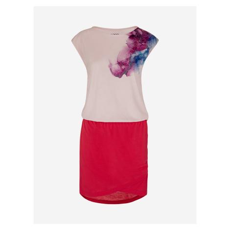 Šaty Loap Algera Růžová