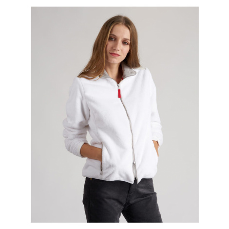 Bunda La Martina Woman Fleece Jacket Woman Eco- - Bílá