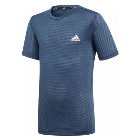 Chlapecké tričko adidas Training TXTRD tmavě modré