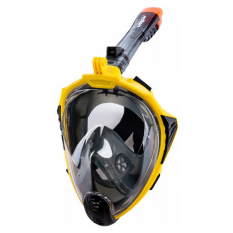Miton UTILA 2 žlutá - Celoobličejová šnorchlovací maska