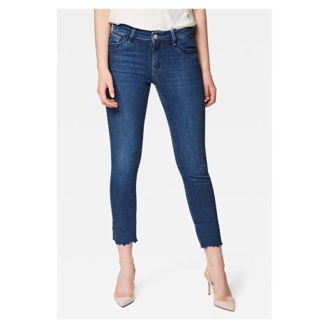 Mavi dámské kotníkové džíny s výšivkou 10844-27974