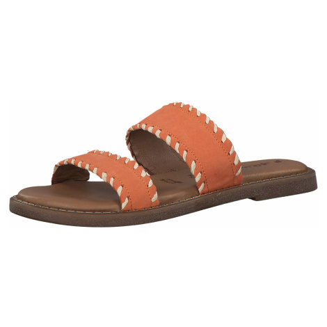 1-27128-34 Dámské boty 620 oranžová Tamaris