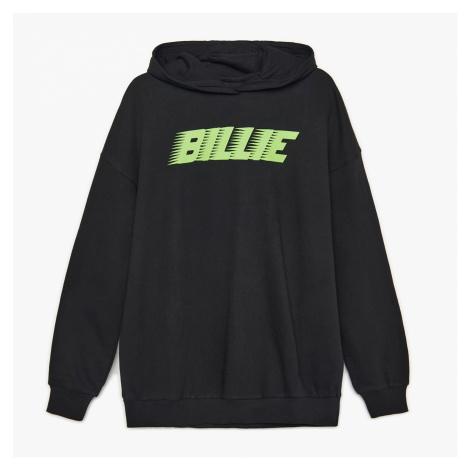 Cropp - Mikina s kapucí a potiskem Billie Eilish - Černý