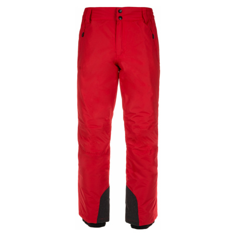 KILPI Pánské lyžařské kalhoty - větší velikosti GABONE-M LMX047KIRED Červená